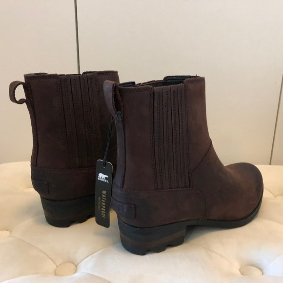 acdc465f4 Sorel Shoes | Lolla Chelsea Brown Waterproof Ankle Boots | Poshmark